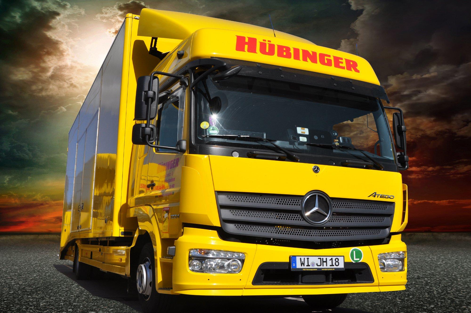 Hübinger Transporte / Einzel- und Sammeltransport
